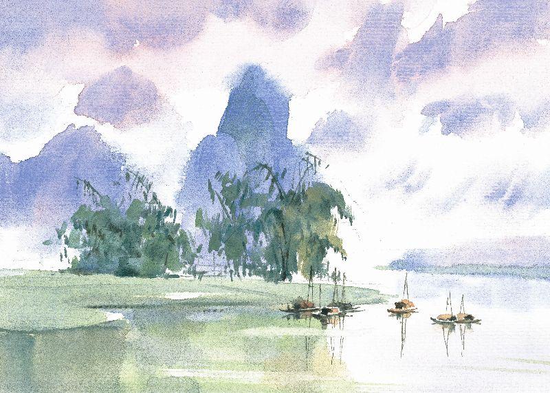 油画布系列 插画 风景 夏天   点击查看大图 编号: 1328100013 类型
