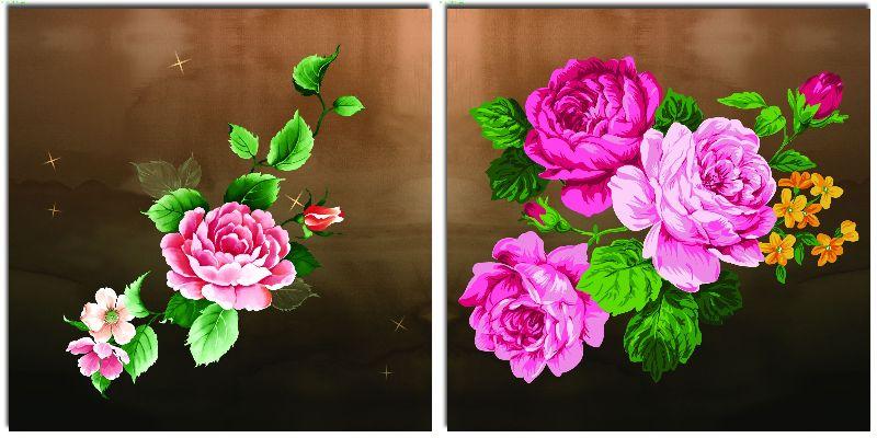 组合画-花团锦簇